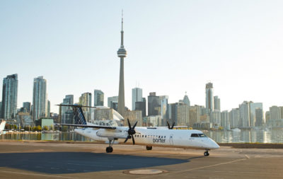 Destination Porter hosts an exclusive event for students who are accepted into the program, where they have the opportunity to meet experienced pilots and executives, and learn about the culture and benefits of working at Porter. Porter Airlines Photo