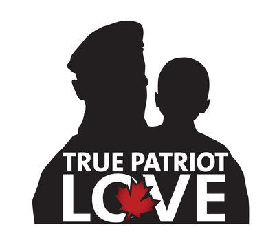 True Patriot Love logo
