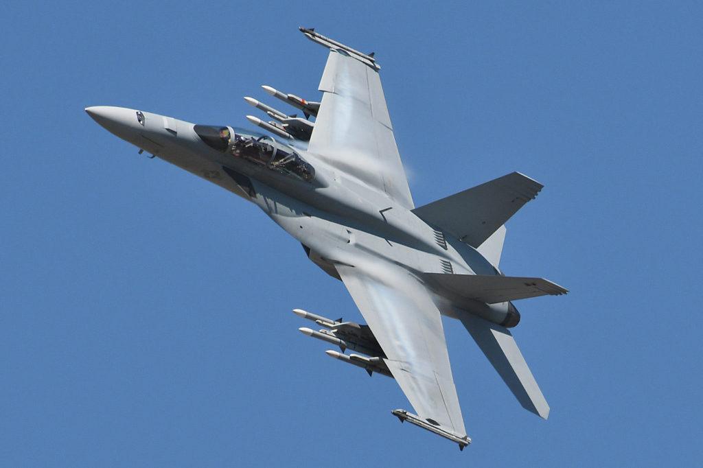 CF-188 Hornet in flight
