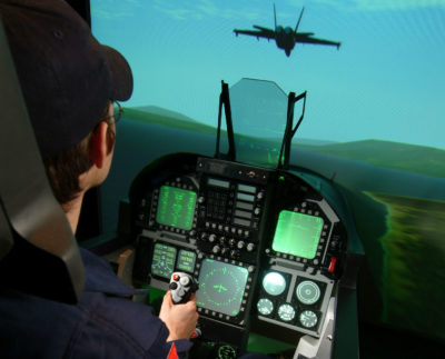 Air Combat Zone, previously located on Dixie Road in Mississauga, Ont., recently relocated its four high fidelity F/A-18C Hornet simulators to the Canadian Warplane Heritage Museum in Hamilton, Ont.