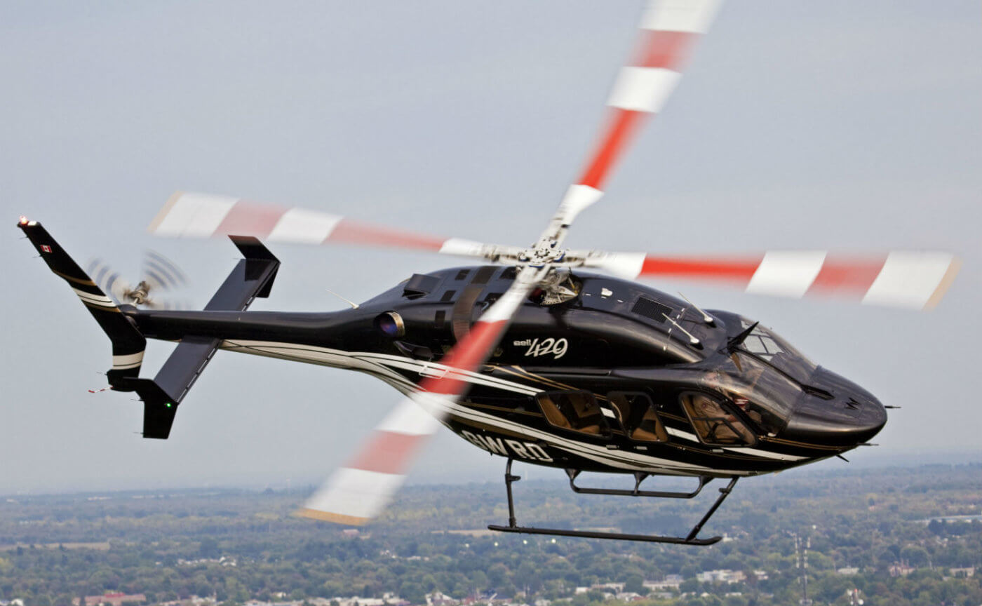 Bell 429 in flight