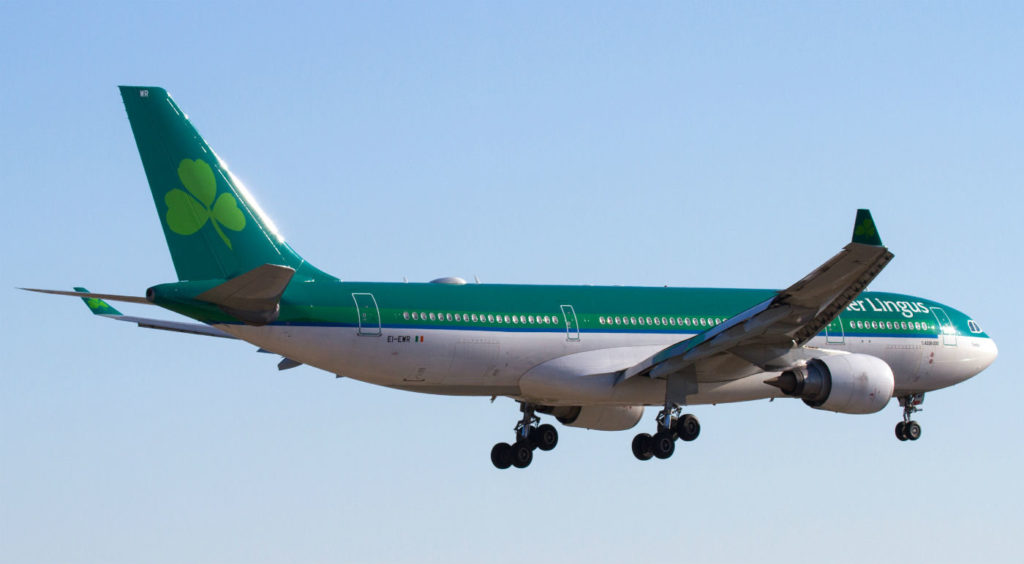 Aer Lingus has operated Airbus A330s since 1994 as the backbone of its wide body fleet. The fleet currently consists of four Airbus A330-200s, and six new A330-300s (with another on order). Andy Cline Photo