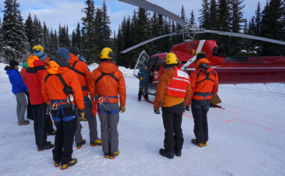 Parks Canada trains Jasper-based SAR teams on new human external cargo equipment from Boost Systems. Boost Human External Cargo Systems Photo