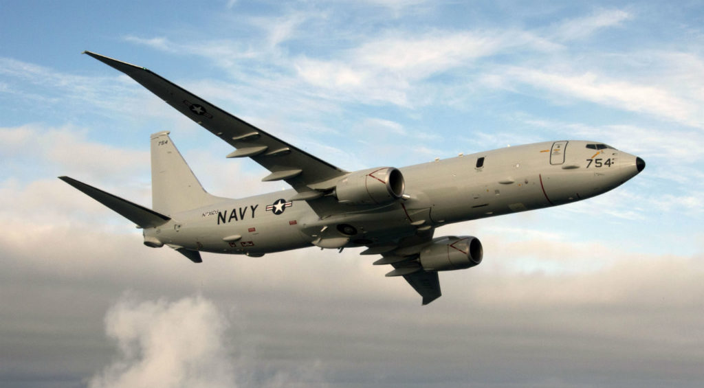 To support the USN's maritime mission requirements, the P-8 incorporates an integrated sensor suite that includes a multi-node radar, an electro-optic infrared camera, and electronic signal detection sensors to find, identify, locate, and track surface targets. For sub-surface targets, the suite includes an integrated acoustic sonobuoy launch and monitoring system. Boeing Photos