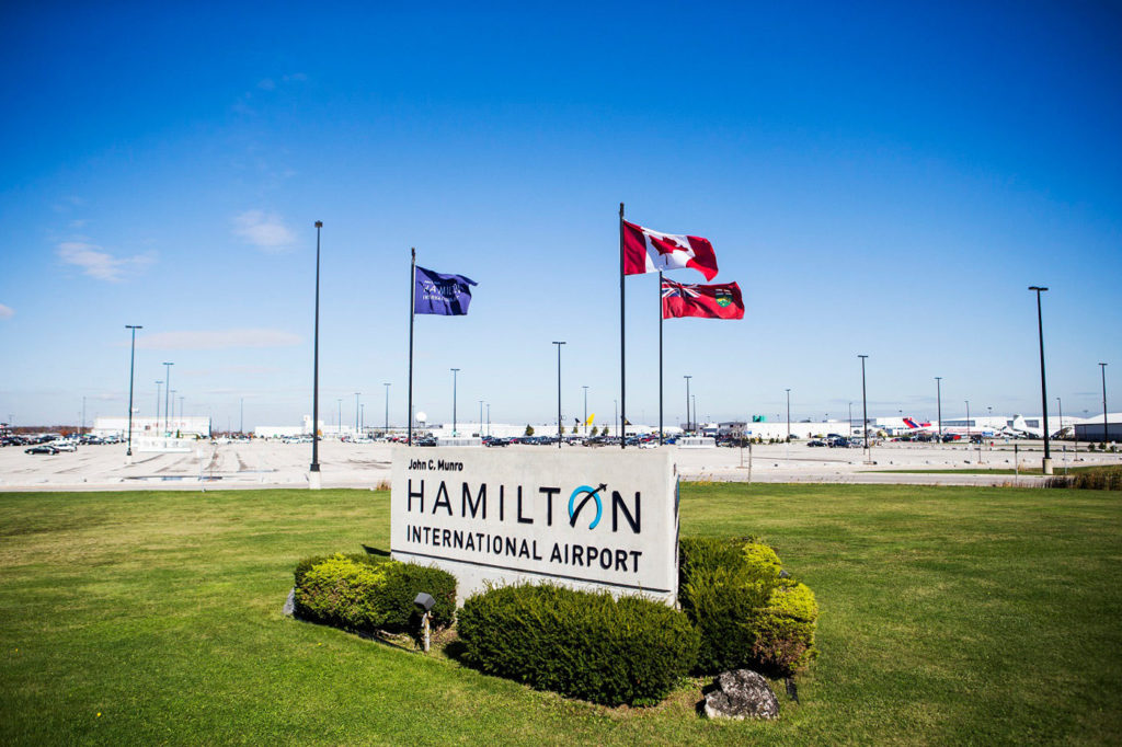 Besides NewLeaf, other firms providing service out of Hamilton include WestJet, Air Canada, Air Transat and Sunwing Travel Group. YHM Photo