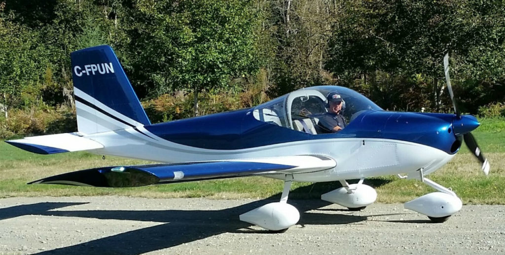 C-FPUN currently has about 40 hours total time on both the airframe and engine. It is powered by a Rotax 912 ULS 100 horsepower engine and has a cruise speed of about 130 miles per hour with a 4.5-gallon per hour fuel burn. TeenFlight Campbell River Society Photo