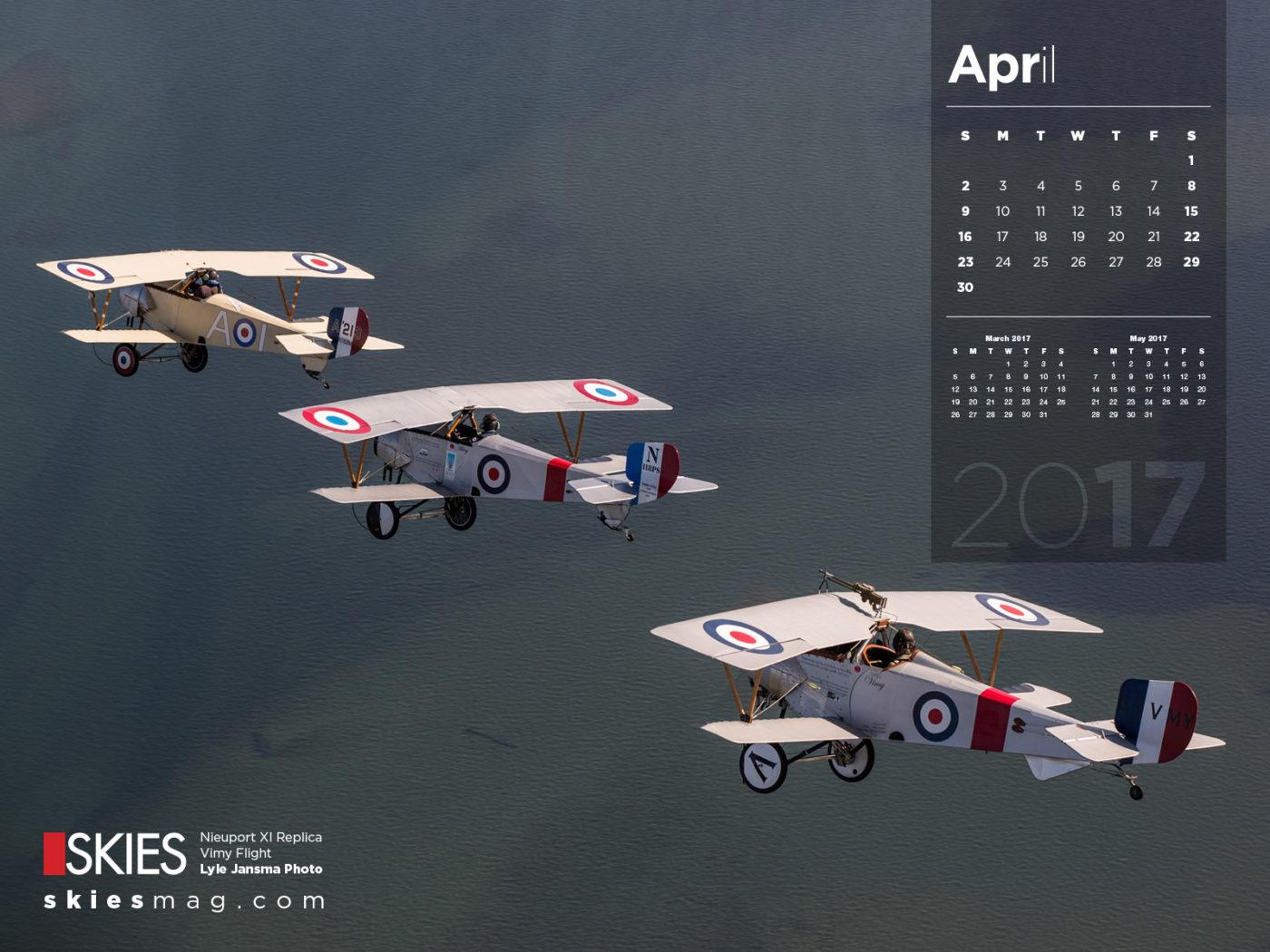 Skies Calendar