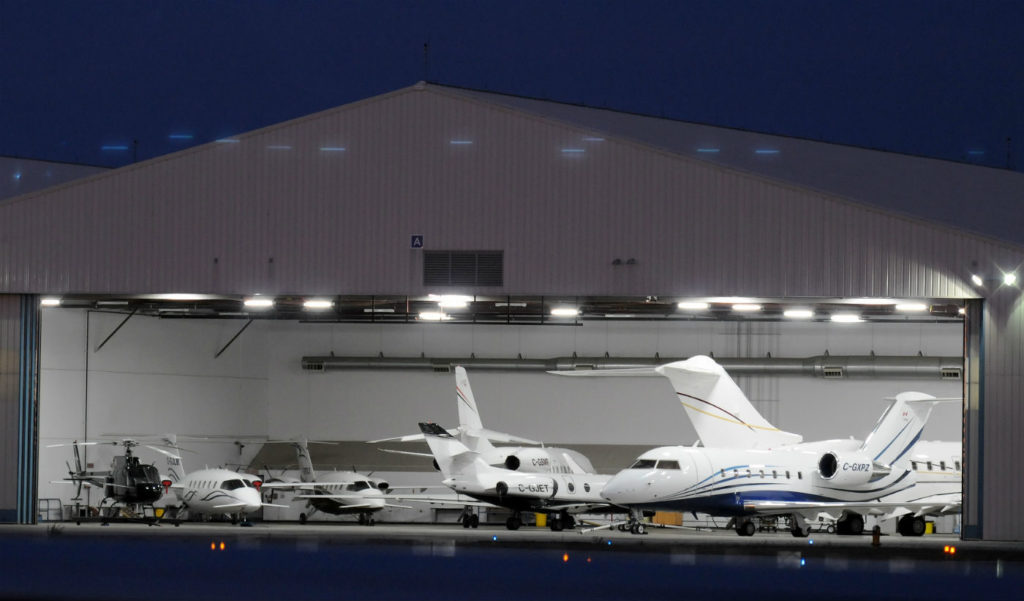 General and business aviation operators at Pearson Airport were caught