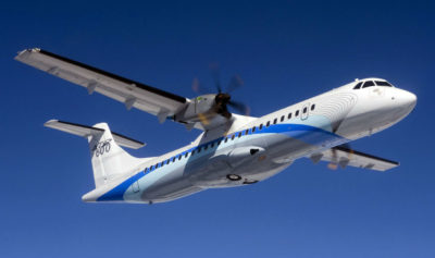 The six ATR 72-600 aircraft are between one and four years old and are the first ATRs added to Chorus Aviation Capital's growing regional aircraft fleet. Airbus Photo