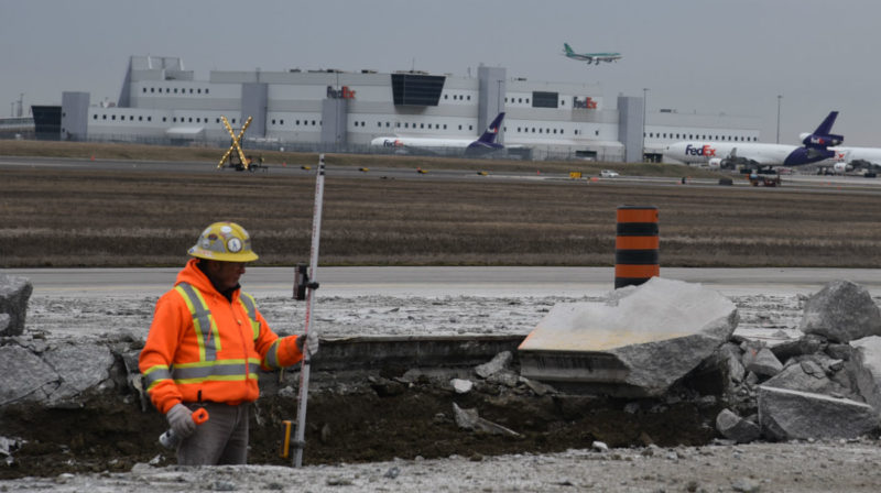 """The safety of our passengers is priority, and we want to ensure that we deliver the safest possible operating environment for our passengers, for our airlines,"" said Michael Belanger, director of aviation programs and compliance for the Greater Toronto Airports Authority. GTAA Photos"