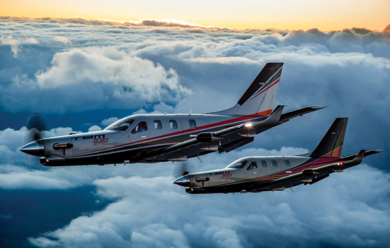 In 2016, Daher announced a new model of its TBM single-engine turboprop family, the TBM 930. Both the Garmin G3000-equipped 930 and the G1000-equipped 900 are currently in production. The TBM 930, the latest version of the world's fastest certified single-engine turboprop, reaches speeds of 330 knots. Eduardo Da Forno Photo