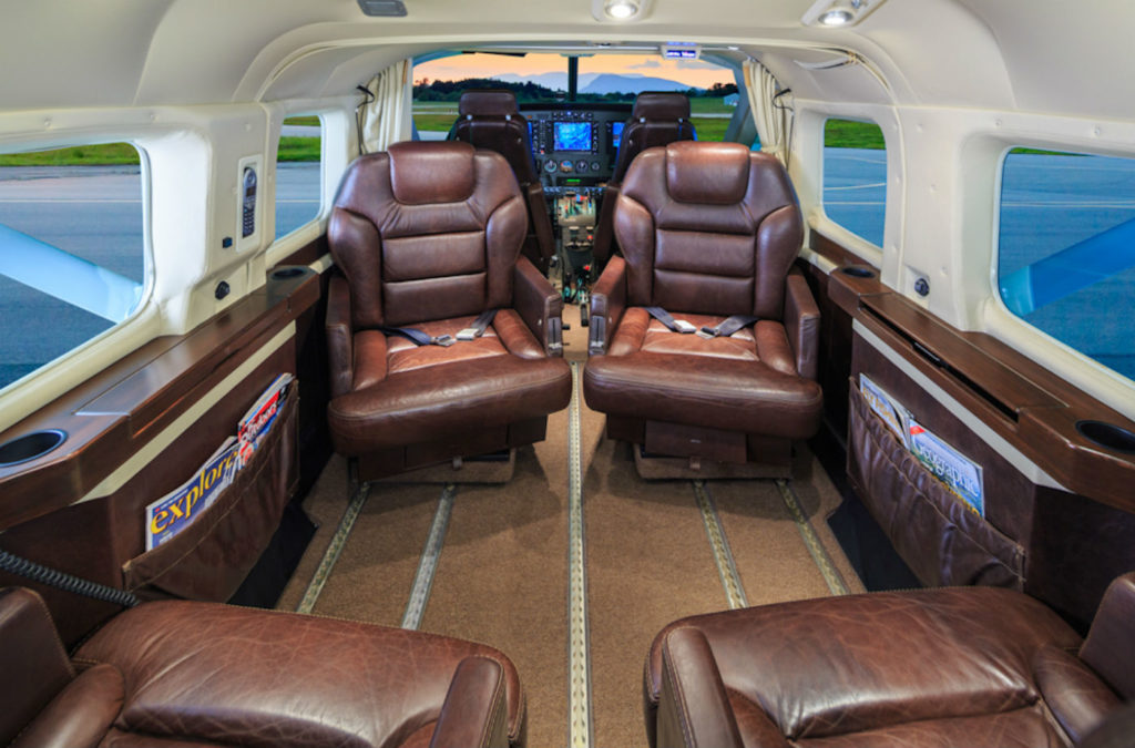 The Caravan's immaculate interior offers a one-of-a-kind, luxury experience. Butiq Escapes Photo