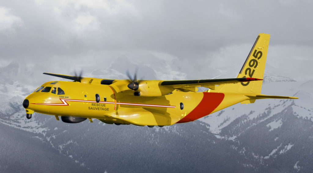 After the Airbus C295W was named Canada's next fixed-wing search and rescue (FWSAR) aircraft, Team Spartan filed an application with the Federal Court to request that Canada cancel its contract with Airbus, claiming the C295W is