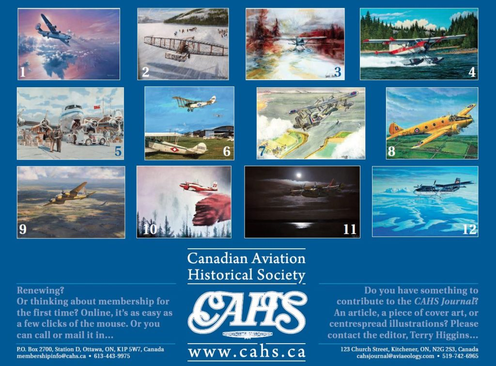 An overview of the 12-month calendar. CAHS Photo