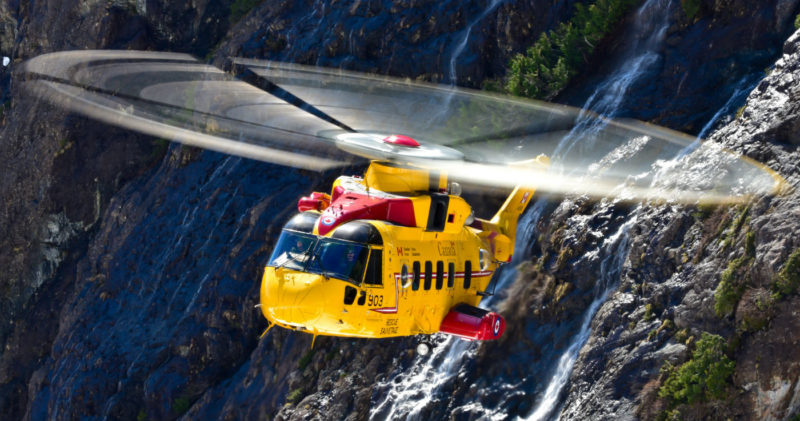 Defence Minister Harjit Sajjan noted that both the CH-146 Griffon multi-role utility helicopters and CH-149 Cormorant search and rescue helicopters (pictured here) are waiting decisions on mid-life upgrade projects that, at present, remain unfunded. Mike Reyno Photo