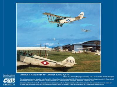 This image is a preview for the month of June on the Canadian Aviation Historical Society's new 2018 calendar. CAHS Image