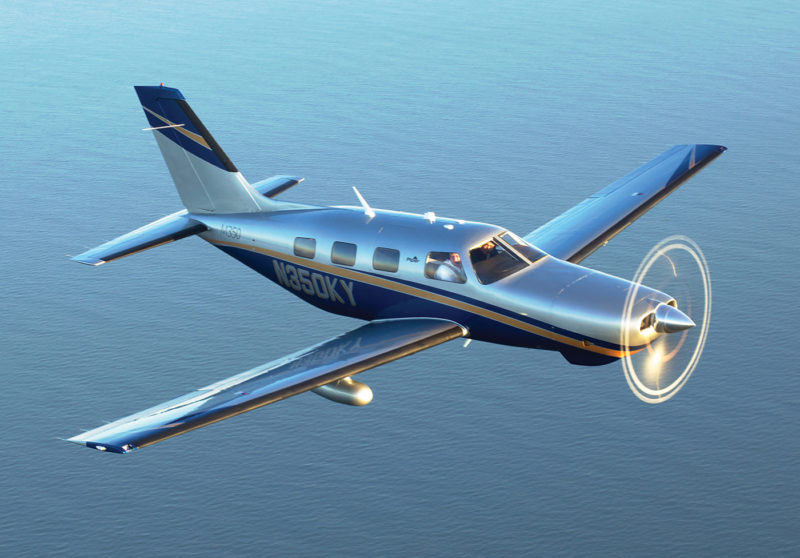 The M350 is the latest iteration in Piper's successful PA-46 model line. Jim Barret/Piper Aircraft Photo