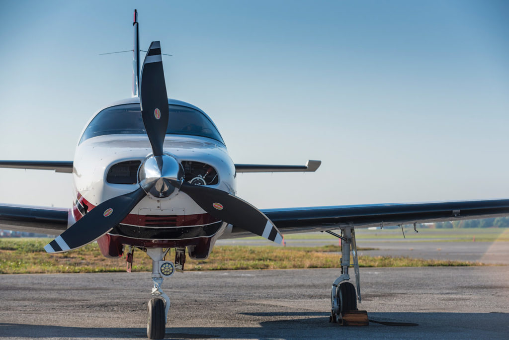 Important for the owner-pilot, the M350 has ramp appeal. Peter Handley Photos
