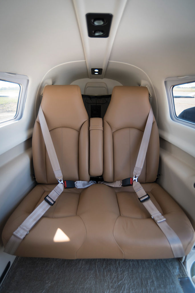 There are six seats and room for baggage in what Rob Erdos dubs a