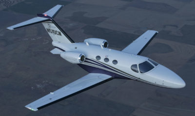 The ground-breaking Mustang quickly set the standard in its category for pilots stepping up to jet ownership, and enjoyed tremendous success throughout its 12-year production run with more than 470 aircraft delivered to customers around the world. Textron Photo