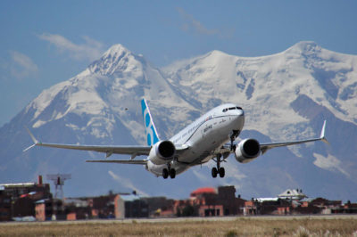 The 10-year TCS-contract covers the airline's future fleet of Boeing 737 MAX aircraft. Boeing Photo