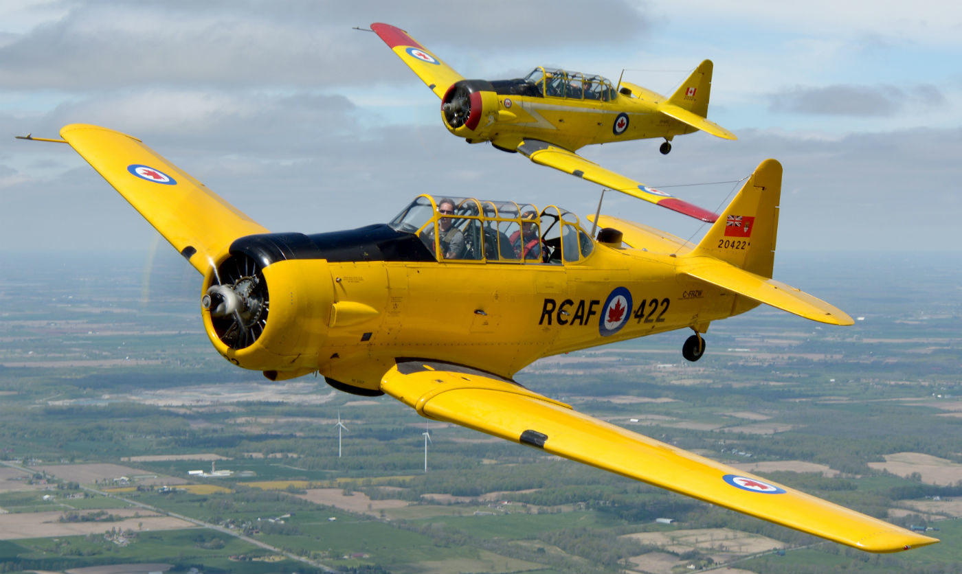 One of NATA's main missions is teaching formation flying for aerial displays. Eric Dumigan Photo