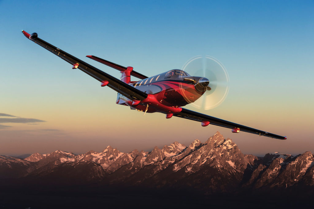 The PT6 engine first established its reputation in general aviation. Today, it is the most popular engine family in its class, powering aircraft such as the Pilatus PC-12 NG. Pilatus Photo