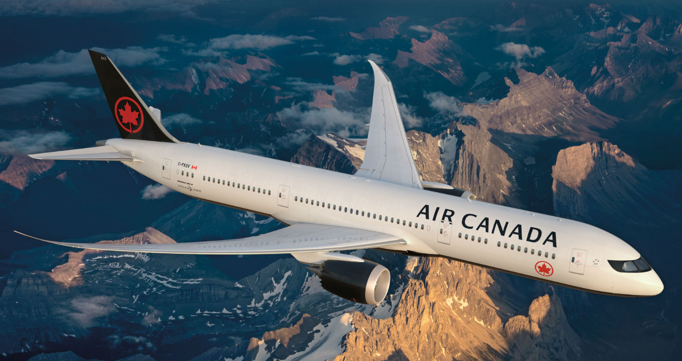 Air Canada as focused on diversifying its finance opportunities as it has expanded its fleet. Air Canada Image