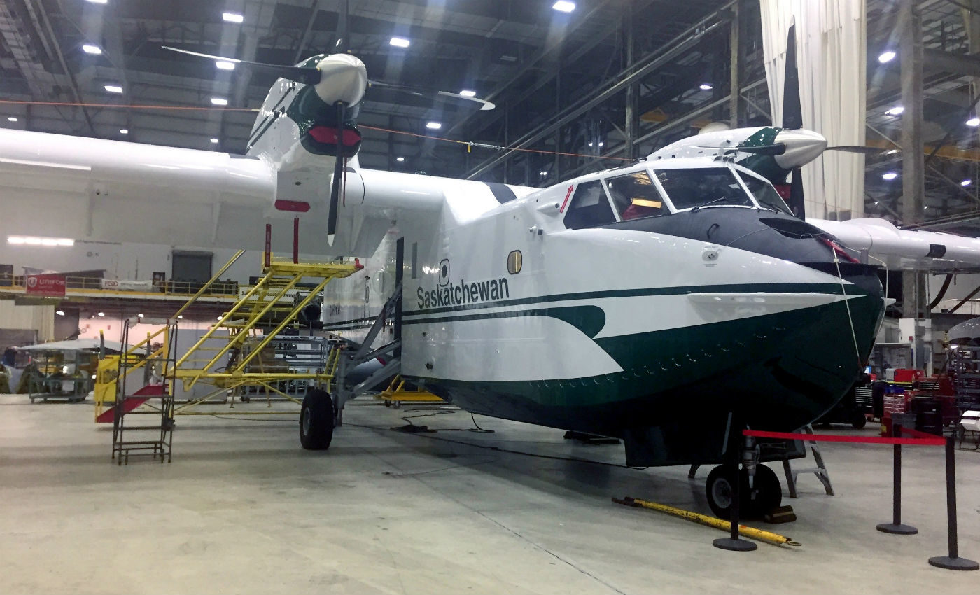 The conversion activities were conducted at Cascade's 230,000-square-foot aircraft modification facility in Abbotsford, B.C. Cascade Photo
