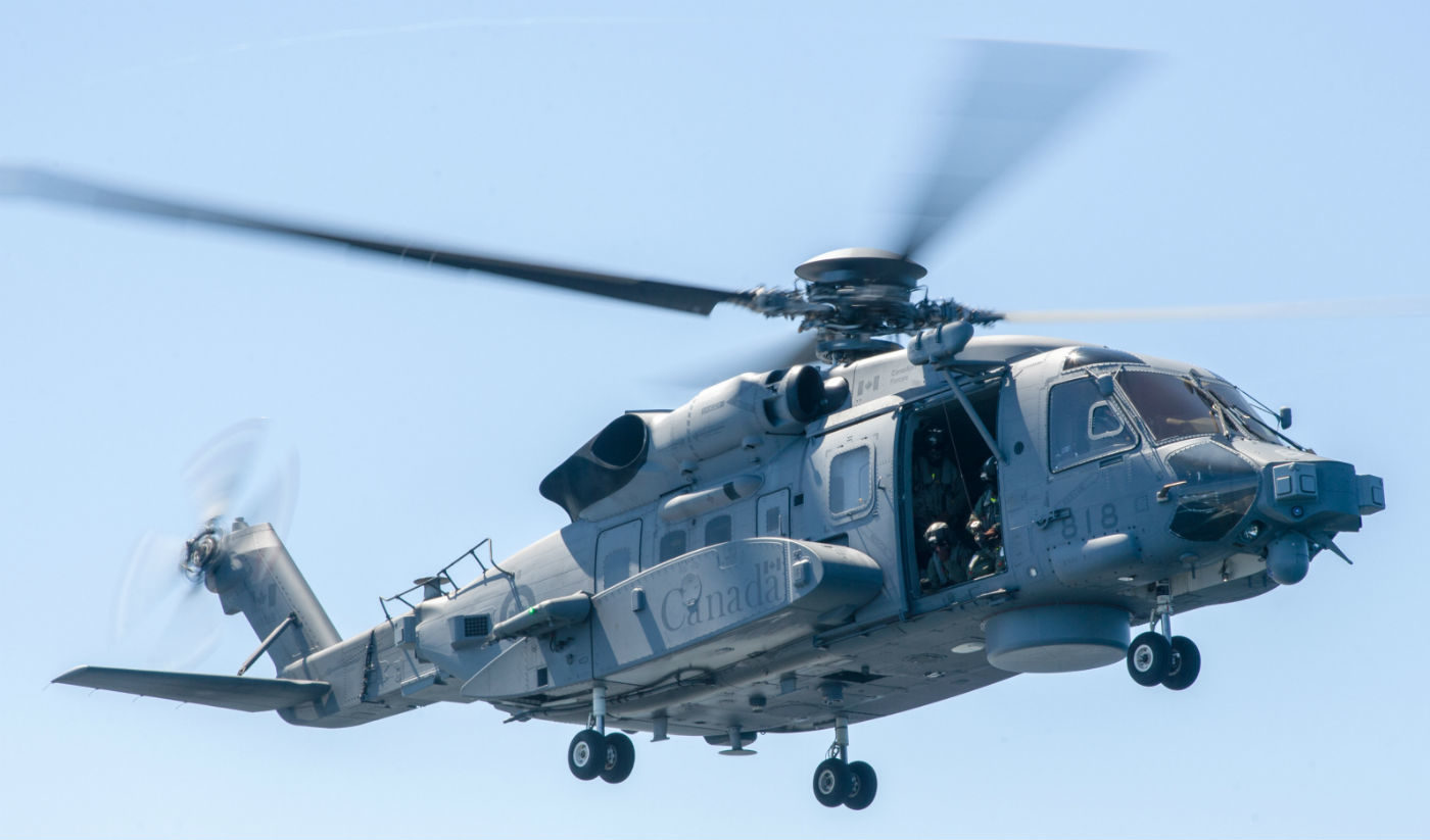 The CH-148 Cyclone is set to replace the CH-124 Sea King as Canada's main shipborne maritime helicopter. It will also conduct surface and subsurface surveillance and control, utility and search and rescue missions, and will provide tactical transport for national and international security efforts. DND Photo