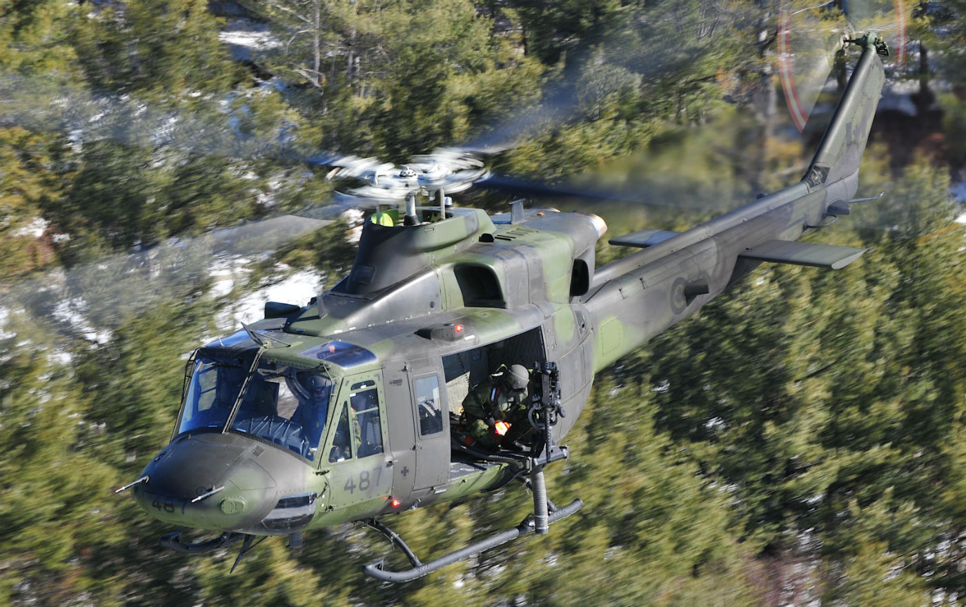 While the RCAF has outlined a limited life-extension project for the CH-146 that would upgrade avionics and some communications systems, it has also assessed whether it might be better to invest in a new platform, bringing the tactical aviation capability on par with the CH-147F Chinook. Mike Reyno Photo