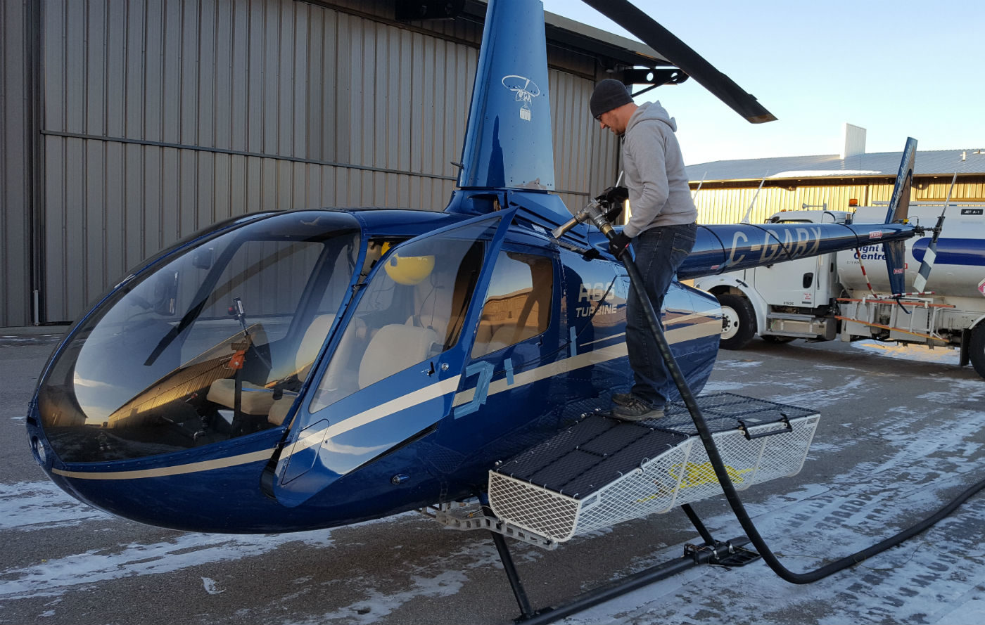 The DART Heli-Utility-Basket is the first R66 cargo expansion solution on the market. DART Photo