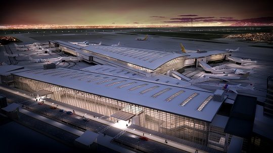 Calgary International Airport has been making improvements to its new international terminal after a series of complaints from passengers. YYC Photo