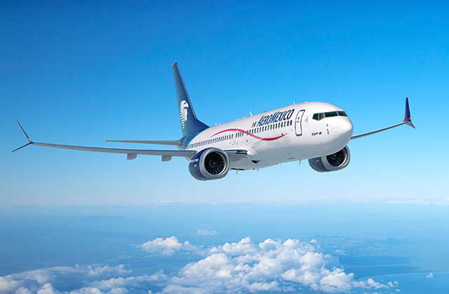 The new flight is operated with Aeromexico's Boeing 737-800 aircraft with 160 seats including 16 in Clase Premier, Aeromexico's business class cabin. Boeing Photo