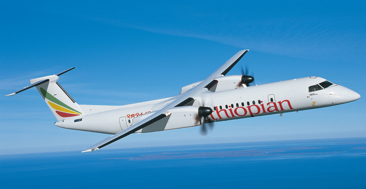 Based on the list price of the Q400 aircraft, the contract is valued at approximately US$162 million. Bombardier Photo