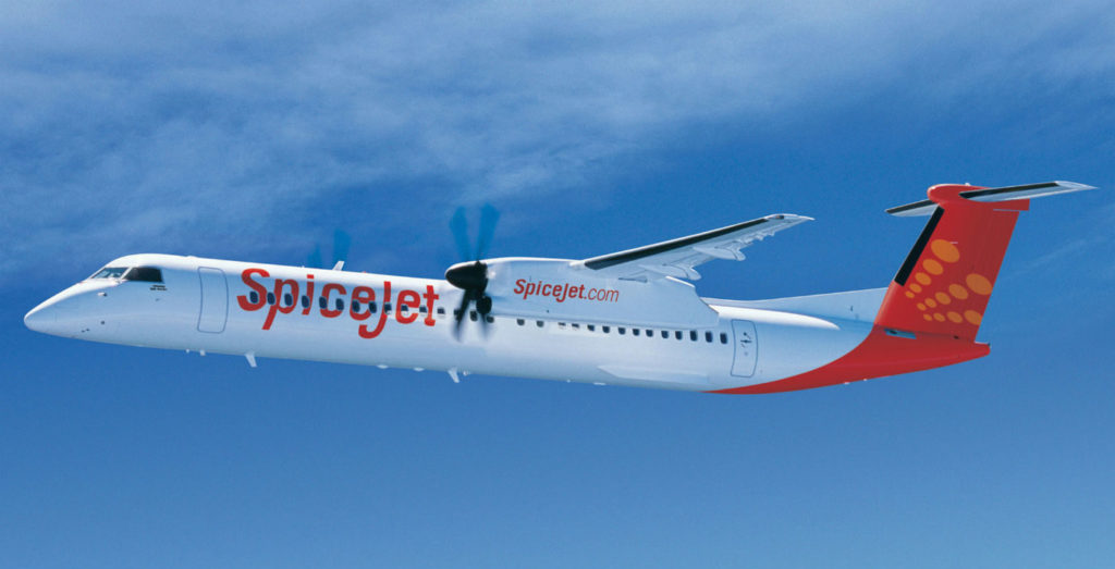 SpiceJet currently operates 20 Q400 aircraft in a 78-seat configuration to domestic and international destinations. When concluded, this fleet expansion will provide SpiceJet the ability to grow profitably and leverage the robust demand forecast in the world's fastest growing regional aviation market. Bombardier Photo