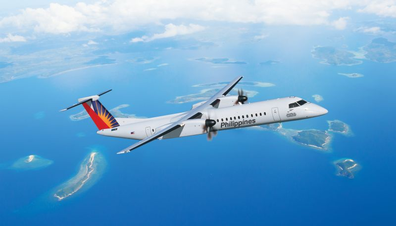 This milestone aircraft is part of Philippine Airlines' purchase agreement announced on Dec. 8, 2016, which included a firm order for five Q400 aircraft and purchase rights for an additional seven. Bombardier Photo