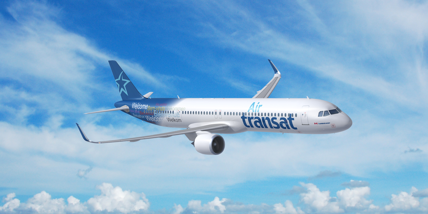The A321neo LRs will be deployed on both Sun destinations and transatlantic routes. Combined with the Airbus A330s and Boeing 737s, they will serve Transat's entire network in an efficient and cost-effective way. Transat A.T. Photo