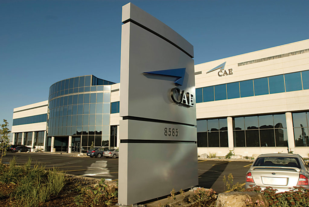 CAE's Montreal headquarters.