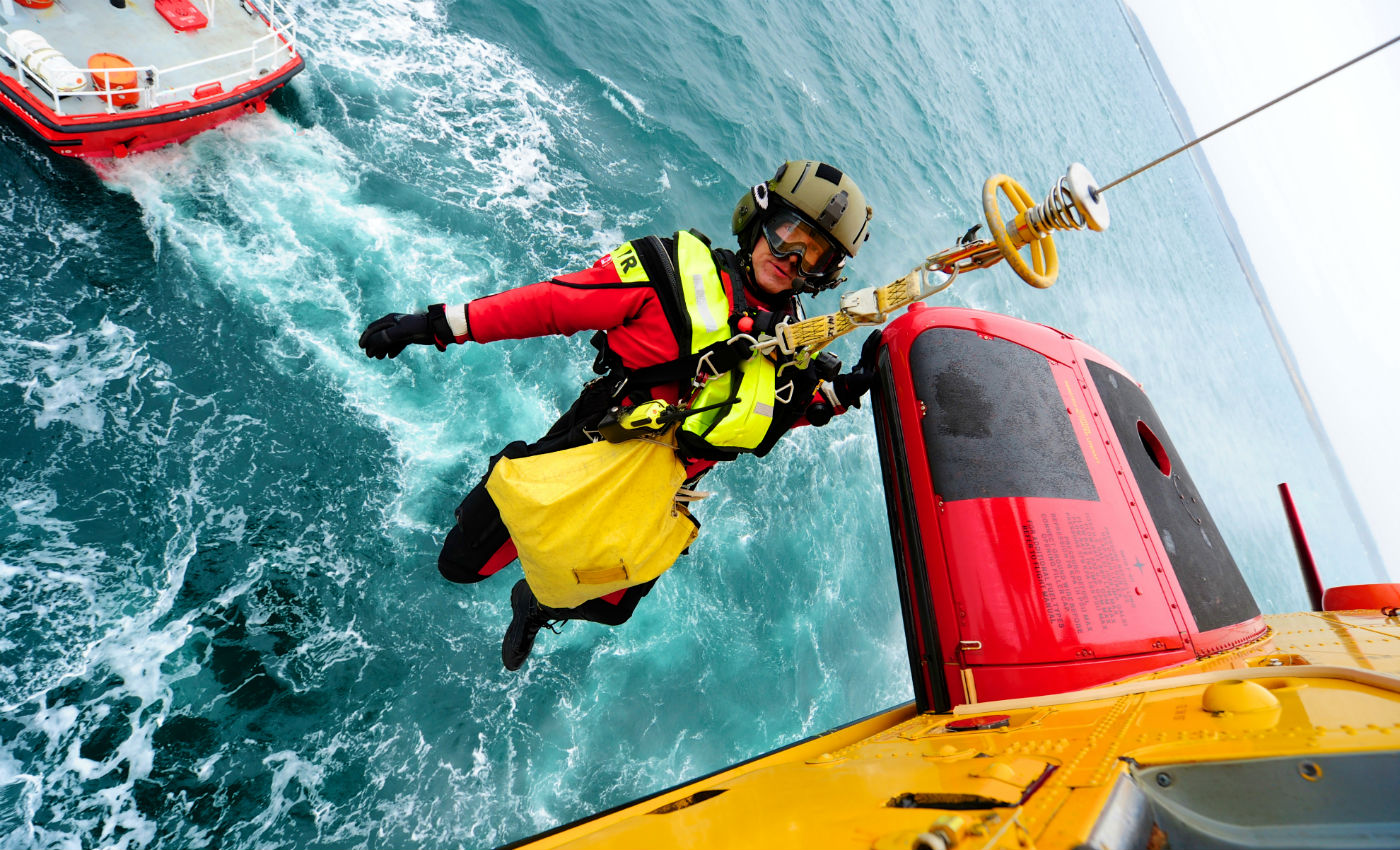 The graduation marks the successful completion of an intense year of training that prepares students to become primary care paramedics armed with expertise in land and sea survival, parachuting, mountaineering, diving and flying operations. Mike Reyno Photo
