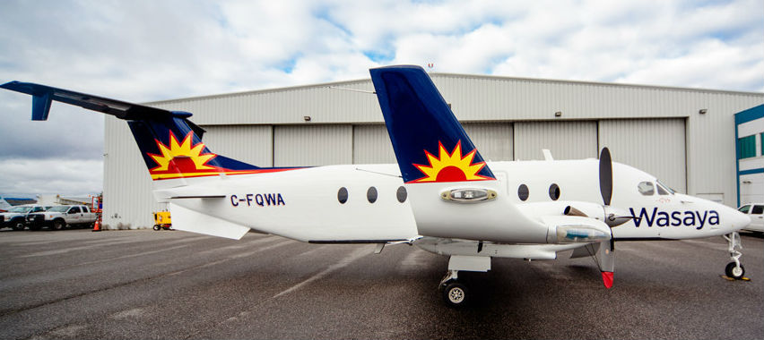 Wasaya is the only airline offering non-stop service between Sioux Lookout and Winnipeg. Wasaya Photo