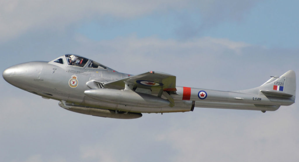 Waterloo Warbirds provided a look into the RCAF's early jet years with its CT-133 Shooting Star and de Havilland Vampire jets.