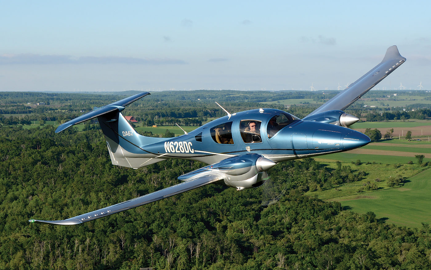 Diamond Aircraft's new all-composite DA62 fits a myriad of missions: twin-engine trainer, charter aircraft, corporate shuttle and personal transport. Production is being transferred from Diamond Austria to the plant in London, Ont., with the Canadian branch converting the type certificate to Transport Canada authority, a process it hopes to conclude by mid-November 2017. Photos by Eric Dumigan