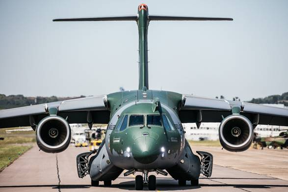 During this tour, the KC-390 flew over 19 countries and was presented to nine nations in Europe, Africa, Asia and Oceania. Embraer Photo