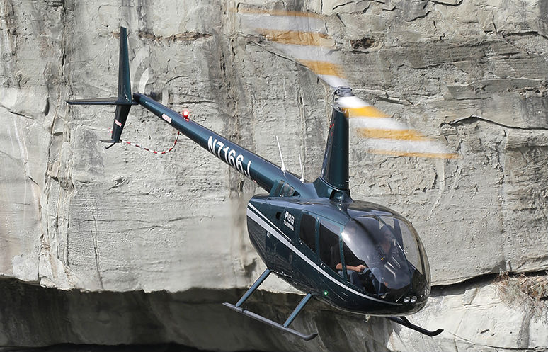 The TB17 Lithium-ion battery is now available on new R66 aircraft for $6,900. Robinson Photo