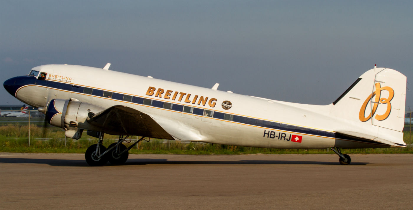 dc interiors douglas dc 3 restoration Breitling DC-3 World Tour stops in Toronto