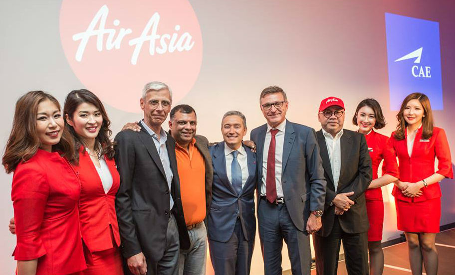 AirAsia and CAE have concluded a sale and purchase agreement concerning the Asian Aviation Centre of Excellence, which is currently a 50:50 CAE-AirAsia joint venture. CAE Photo