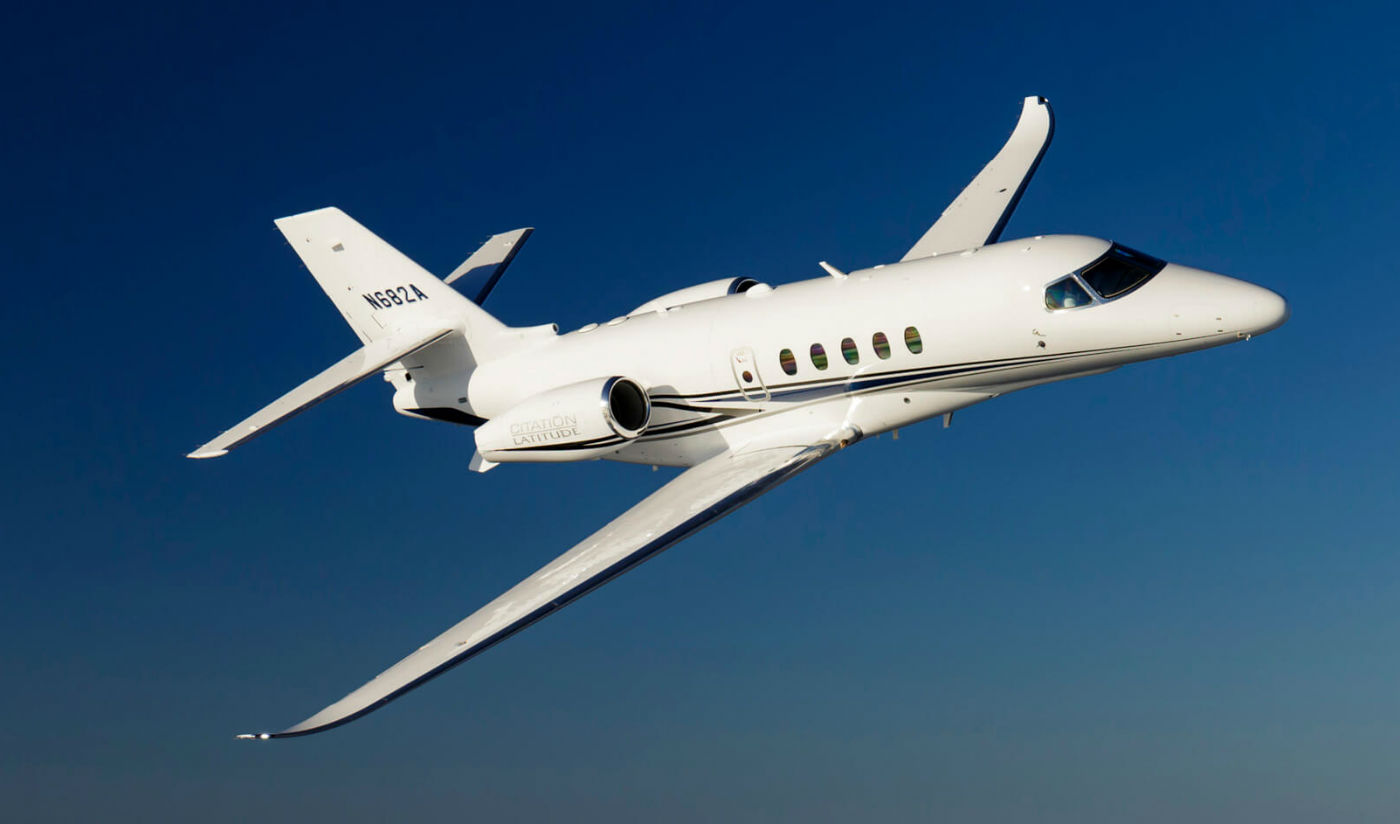 Throughout the three-day event, Textron Aviation and TAM are showcasing the business jet, turboprop and piston platforms best suited for the Latin American region, including the Cessna Citation Latitude (pictured here), Cessna Citation CJ3+, Cessna Citation M2, Beechcraft King Air 350i, Cessna Grand Caravan EX and Beechcraft Baron G58. Textron Photo