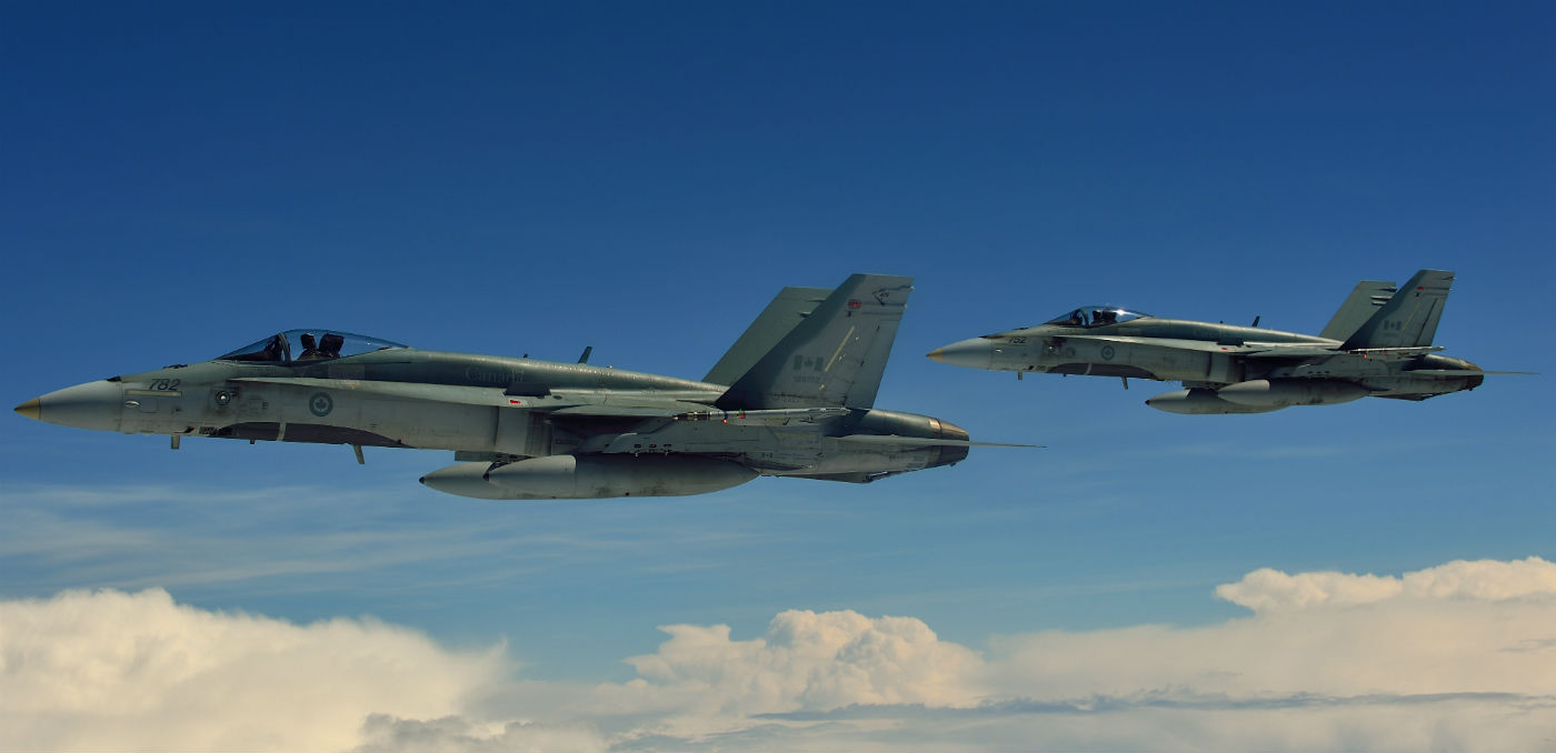 The Royal Canadian Air Force will send approximately 135 personnel and four CF-188 Hornet fighter jets to Constanta, a city on the shores of the Black Sea in southeastern Romania, for a four-month mission from September to December. DND Photo