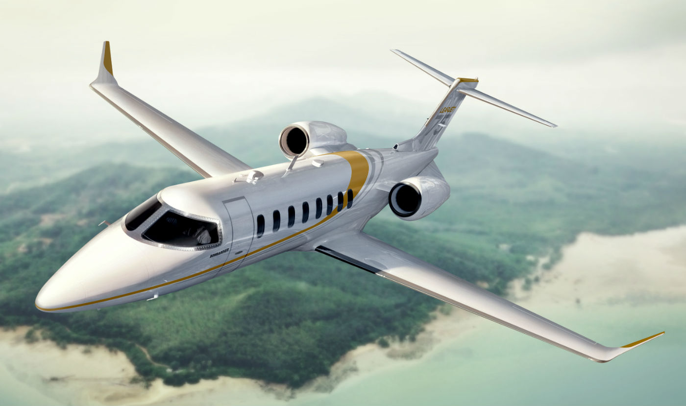 The aircraft joins Bombardier's business jet fleet of 685 Learjet, Challenger and Global aircraft in Latin America. Bombardier Photo